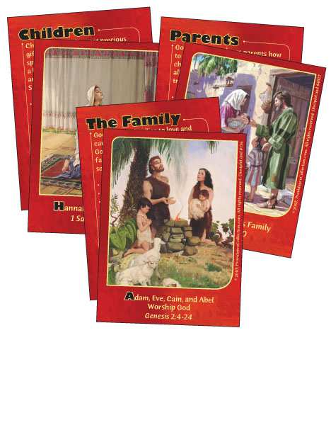 Family Life with God - Bible Cards cover image