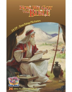 How We Got the Bible - Teaching Pictures cover image