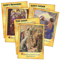 Mighty Miracles - Bible Cards - Cover Images
