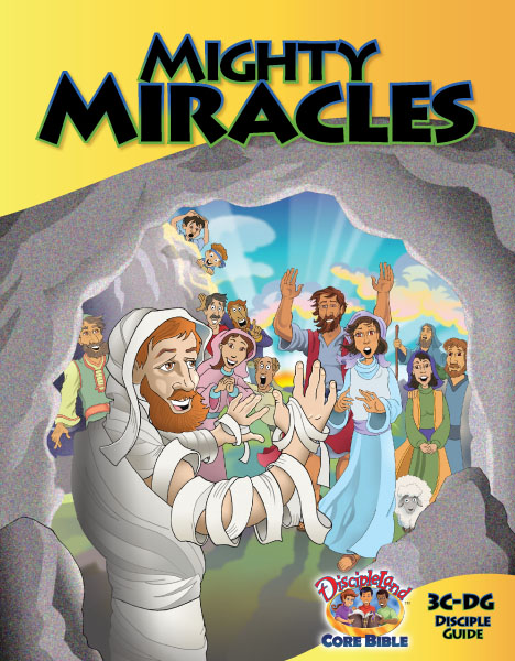 Mighty Miracles - Disciples Guide - cover image