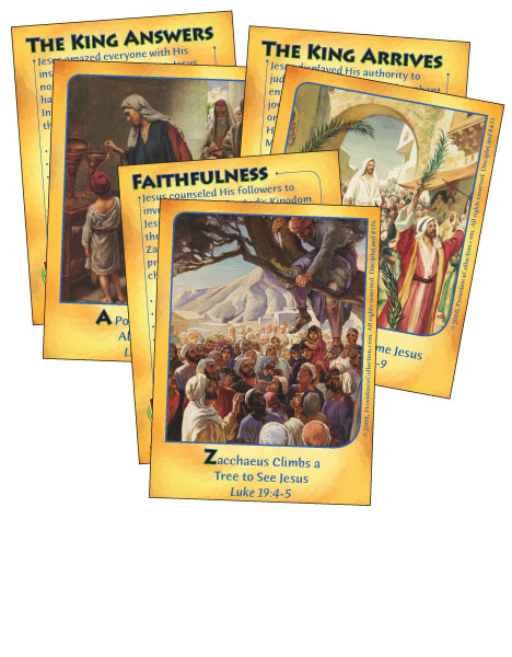 Triumphant Over All - Bible Cards - Cover Image