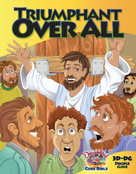 Triumphant Over All - Disciple Guide - Cover Image