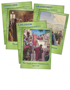 Eyewitnesses - Bible Cards - Cover Images