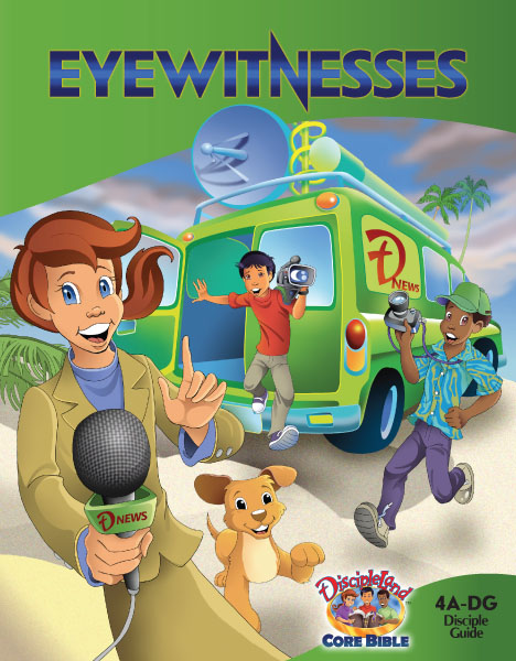 Eyewitnesses - Disciple Guide - Cover image