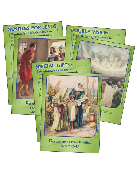 Powerful Messengers - Bible Cards - Cover Image