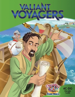 Valiant Voyagers - Disciple Guide - Cover Image