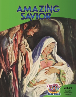 Christmas Lesson: Amazing Savior - Cover Image
