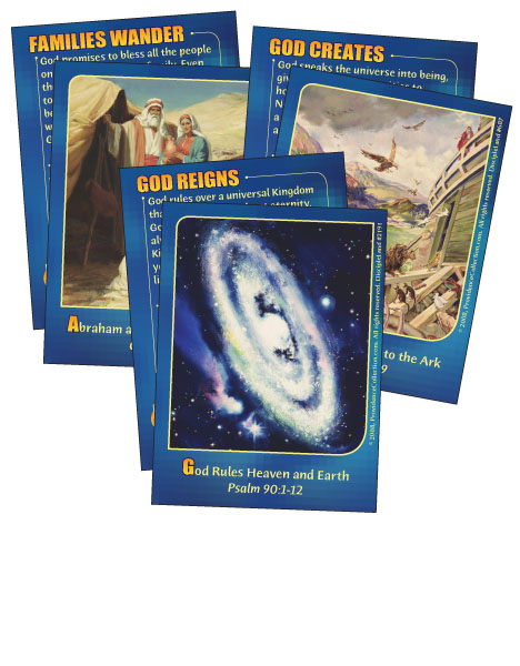 Old Testament Champions - Bible Cards - Cover Image