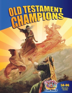 Old Testament Champions - Disciple Guide - Cover Image