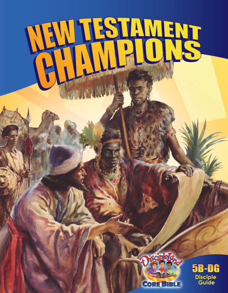 New Testament Champions - Disciple Guide - Cover Image