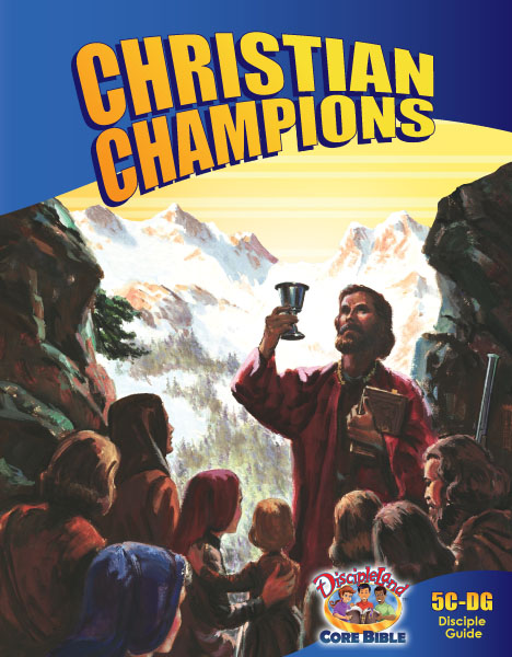 Christian Champions - Disciple Guide - Cover Image