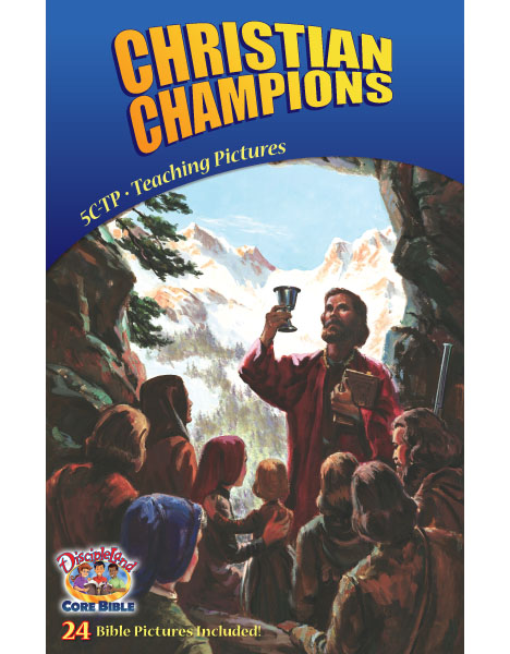 Christian Champions - Teaching Pictures - Cover Image