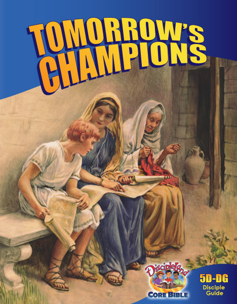 Tomorrow's Champions - Disciple Guide - Cover Image