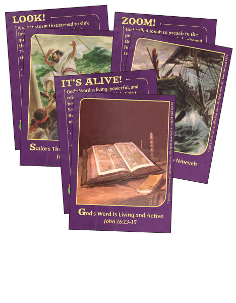 Bringing the Bible to Life - Bible Cards - Cover Image