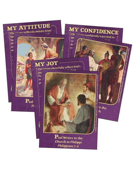 God Up Close & Personal - Bible Cards - Cover Image