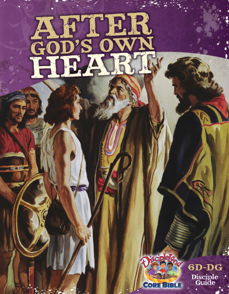 After God's own Heart - Disciple Guide - Cover Image