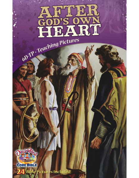 After God's own Heart - Teaching Pictures - Cover Image